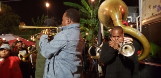 Brass band @ Kermit's lounge
