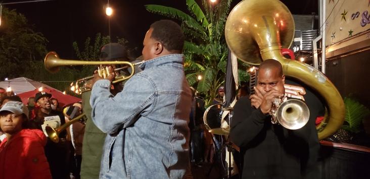 Brass band @ Kermit's lounge